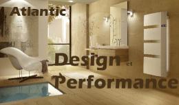 Radiateur connecté Atlantic Design et performance