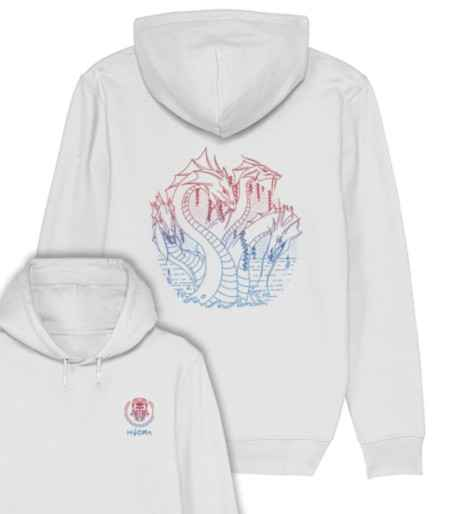 Sweat capuche coton bio Hydra Clothing